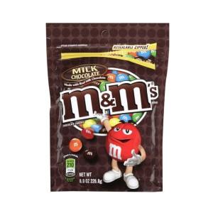m & m milk