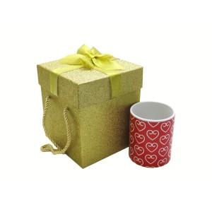 جعبه کادویی اکلیلی طلایی (سایز بزرگ)
