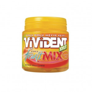 Vivident Gum Fruit Mix