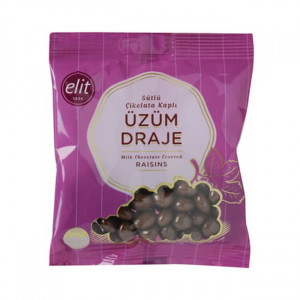 Elit Grape & Milk Chocolate Dragee