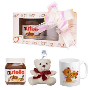 پک هدیه ماگ و عروسک و نوتلا کد Gift008