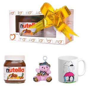 پک هدیه ماگ و عروسک و نوتلا کد Gift012