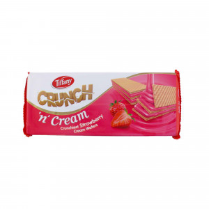 tiffany crunch strawberry cream