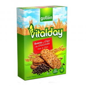 Gullon Vitalday Biscuit with Oat and Chocolate Chips