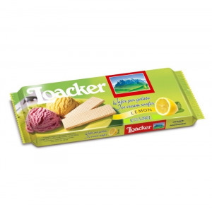 loacker ice cream & lemon