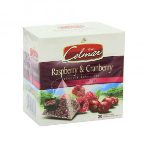 Celmar Raspberry & Cranberry Fruit Tea