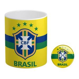 ماگ و پیکسل طرح تیم ملی برزیل