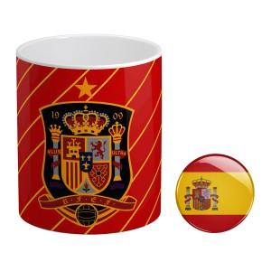 ماگ و پیکسل طرح تیم ملی اسپانیا