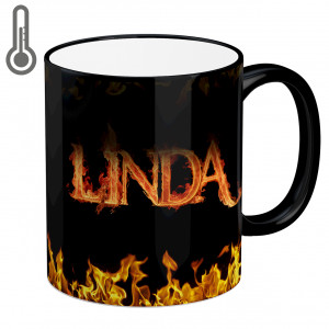 ماگ جادویی طرح لیندا