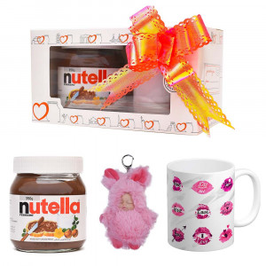 پک هدیه ماگ و عروسک و نوتلا کد Gift002