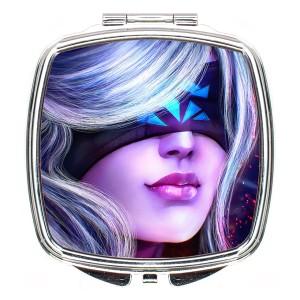 آینه آرایشی لومانا کد M012