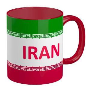 ماگ تو رنگی طرح تیم ملی ایران