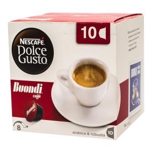 کپسول قهوه 10 عددی دولچه گوستو Buondi