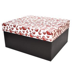 جعبه کادویی طرح قلب کریستالی سایز 1
