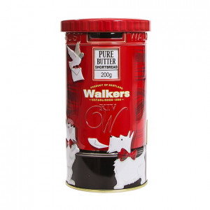 Walkers Post Box Tin Biscuit