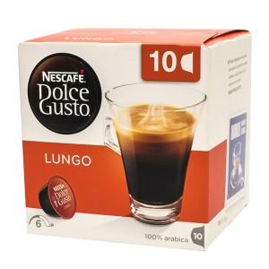کپسول قهوه 10 عددی دولچه گوستو Lungo
