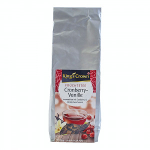 king's crown cranberry vanilla tea