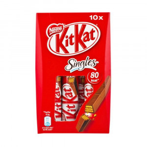 Nestle Kit Kat Singles 10x