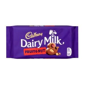 Cadbury Dairy Milk Fruit and Nut