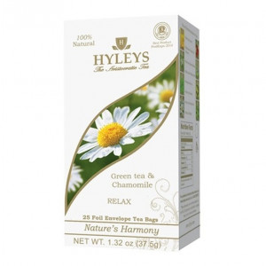 hyleys green tea & chamomile