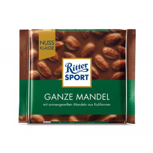 Ritter Sport Dark Chocolate with Whole Almond