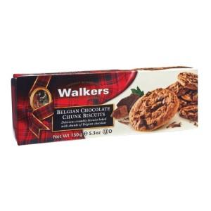 Walkers Belgian Chocolate Biscuits