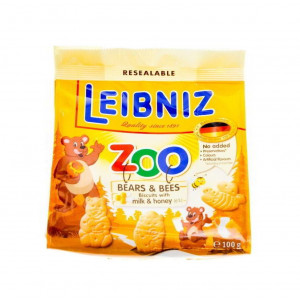 Bahlsen Zoo Biscuits with Milk & Honey
