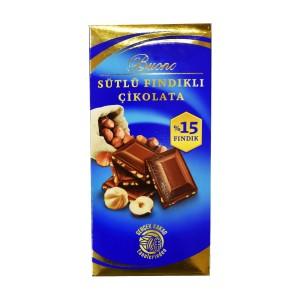 تابلت شکلات با طعم فندق Buono