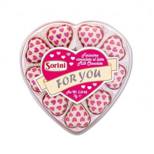 Sorini milk Heart chocolate For You