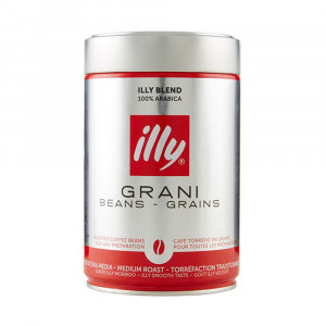 Illy Grani Medium Roast Coffee Can