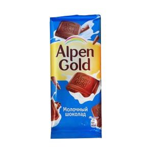 تابلت شکلات شیری آلپن گلد