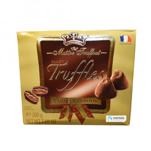 ترافل شکلاتی فرانسوی با طعم قهوه Maitre Truffout
