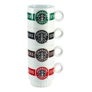 ست 4 عددی بزرگ فنجان استارباکس