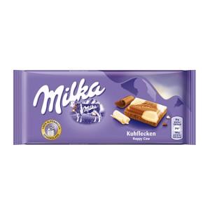 تابلت شکلات شیری و شکلات سفید میلکا