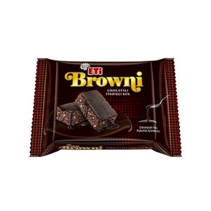 eti browni cake whit chocolate souse