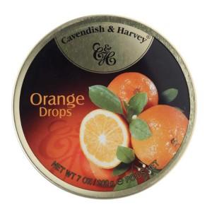 آبنبات پرتقال کاوندیش و هاروی