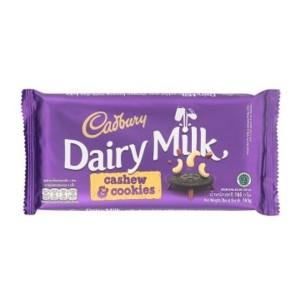 cadbury dairy milk cashew & cookies