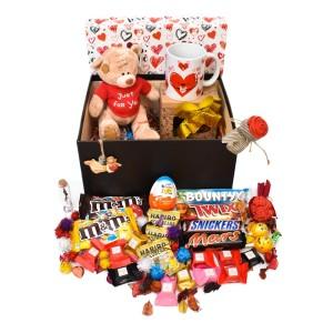 پک هدیه شکلات و عروسک سایز 2 کد H029