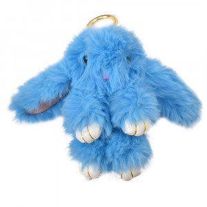 عروسک خرگوش مدل لاکچری آبی