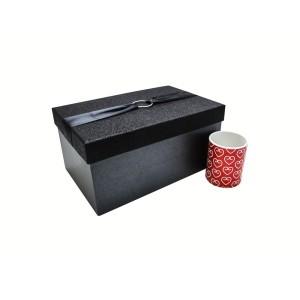 جعبه کادویی اکلیلی مشکی (سایز بزرگ)