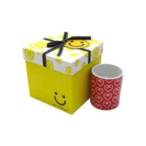 جعبه کادویی طرح لبخند (سایز متوسط)