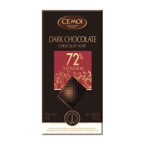 تابلت شکلات تلخ 72% سموی
