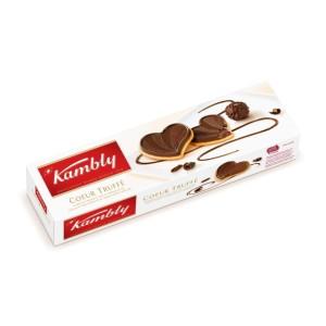 بیسکوئیت شکلات تلخ و ترافل کمبلی
