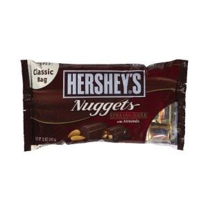 شکلات پذیرایی تلخ با مغز بادام هرشیز