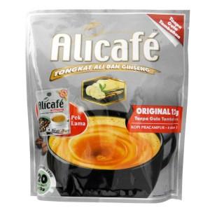 بسته ساشه قهوه بدون شکر 4 در 1 علی کافه