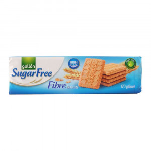 Gullon Sugar Free Fibre Biscuits