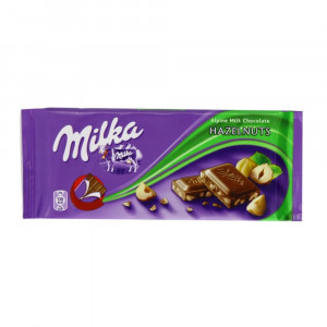 Milka Hazelnuts Milk Chocolate