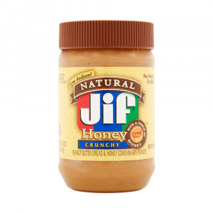 Jif Natural Honey Crunchy Peanut Butter