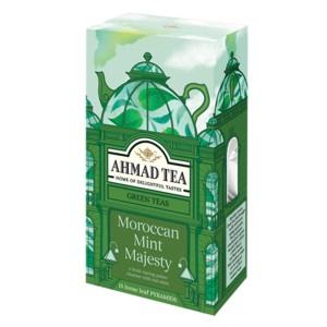 بسته دمنوش میوه ای احمد تی مدل Moroccan Mint Majesty