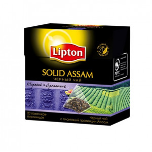 lipton solid assam black tea